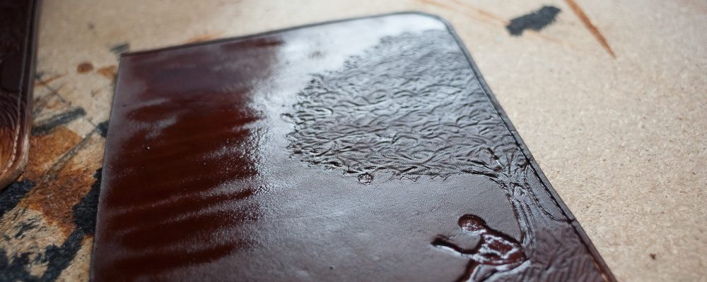 Tutorial – How I make the DIY Kindle leather case