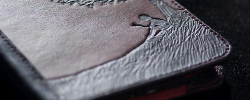 Handmade Kindle 3 (Keyboard) Leather Case