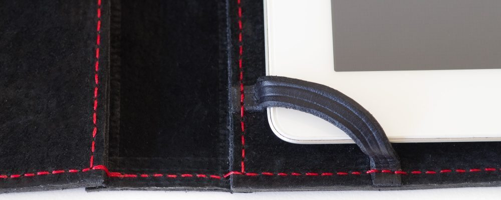 iPad Case: Black & Stealthy