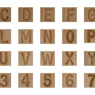 Sans Serif Stamps
