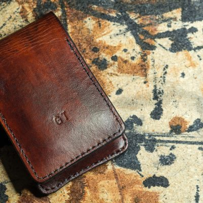 Front view of iPhone Flip Wallet GT