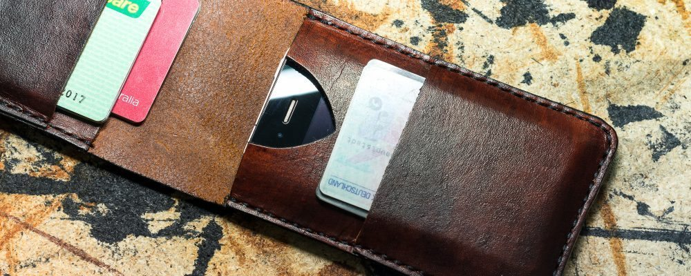 iPhone Flip Wallet 2013