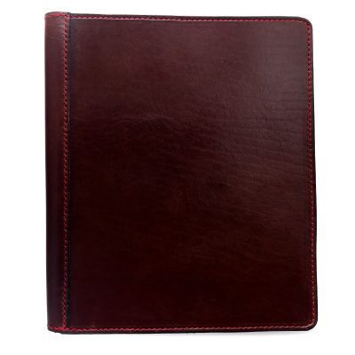 iPad Folio: Plain Mahogany