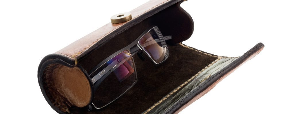 """Leather Glasses Case for MYKITA """"Curtis"""""""