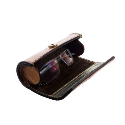 "Leather Glasses Case for MYKITA ""Curtis"""