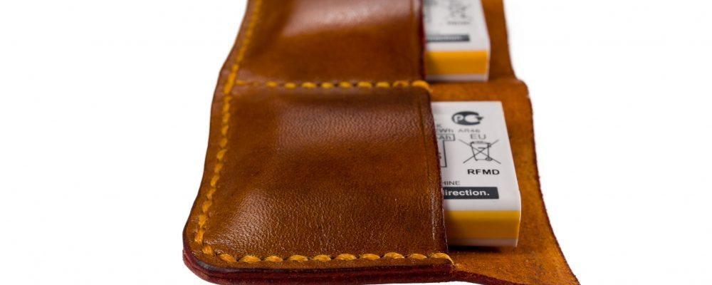 Leather Sleeve for X100S Spare Batteries