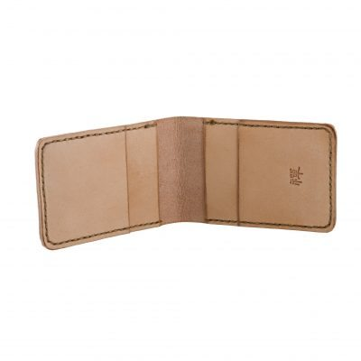 Natural Credit Card Flip Wallet