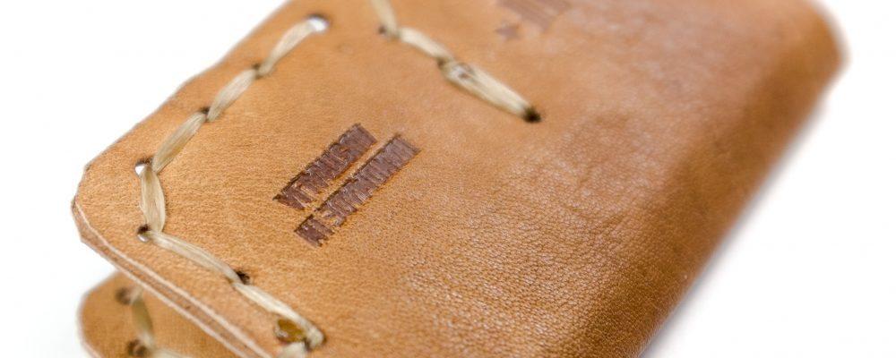 SD Card Wallet – Kangaroo Leather