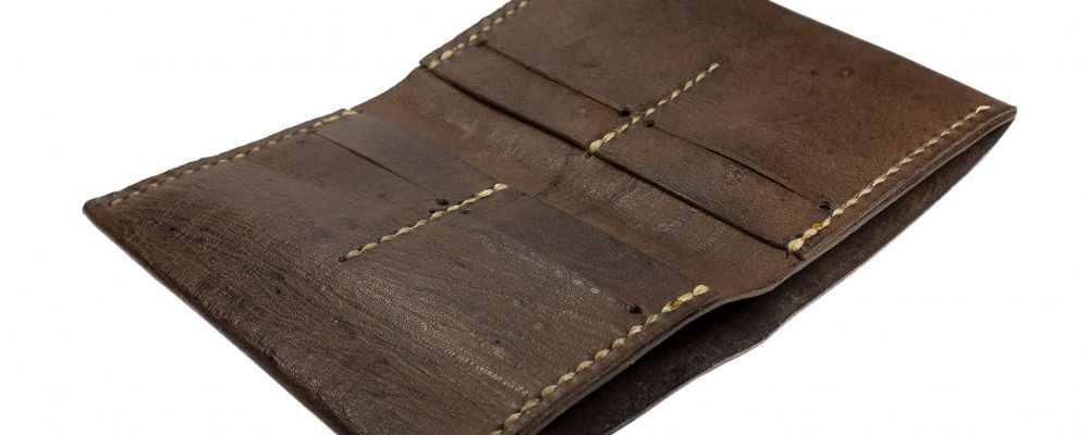 """How to make a """"Bryn"""" medium-long leather wallet"""