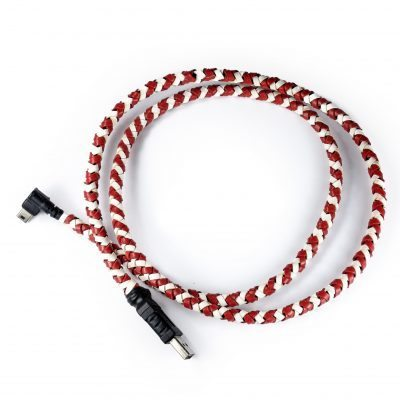 Kangaroo Leather braided USB Cable