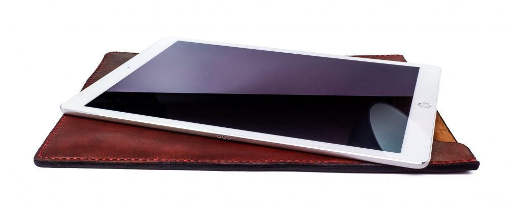 iPad Pro Saddle Leather Sleeve